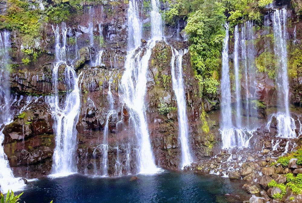 Les cascades de la rivière Langevin